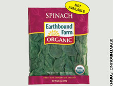 Earthbound Farms Bagged Fresh Spinach